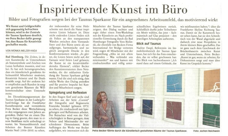 Blog-Artikel Taunus-Zeitung - 1